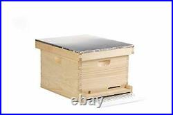 10-Frame Complete Hive Complete Beehive with Frames for Beekeeping Item No