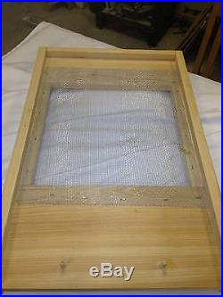 10 frame Langstroth Beehive Specialty Hive Traditional Church Honey Bee Hive