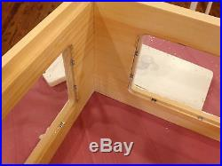 10 frame Observation hive Langstroth Beehive with removeable doors Painted