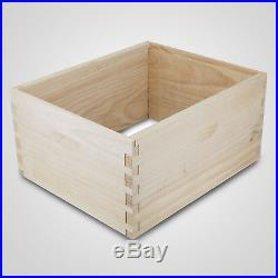 5 Brood Box10-Frame Beehive Frames /Bee Hive Frame for Beekeeping with Metal Roof