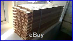 50 thornes langstroth beehive frame parts top bars