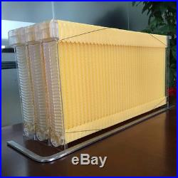 7 Tubes Honey Auto Outflow Hive Beehive Frames + Beekeeping Super Brood Box Kit