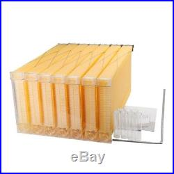 7PCS flow hive frames with comb for beehive of food grade plastic with free ship