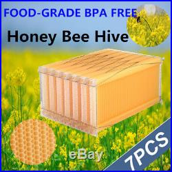 7X Upgrated Version Beekeeping Auto Honey Hive Beehive Frames Harvesting UK SHIP