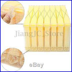 7x Beehive Bee Automatic Raw Frames For Beekeeping Harvesting Honey