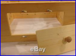 8 frame Observation Langstroth Beehive viewing hive with removeable doors natural