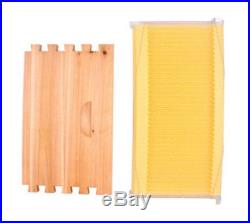 CE 7PCS Upgraded Beekeeping Tool Hive Frames + Beehive Wooden Brood Box