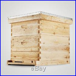 Langstroth Bee Hive 10 Frame 1 Deep 1 Medium (Includes all Frames & Foundations)