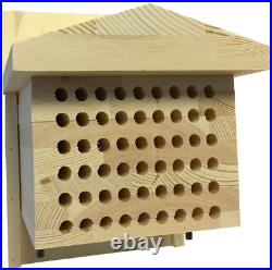 LiveMoor Solitary Bee Hive Insect Hotel Help Save the UK Bee Population