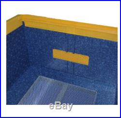 MyBeeh EPP Bee Hive Beehives Double Kit (2 Boxes) Grills Cover Frame