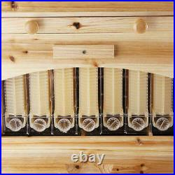 Upgraded Beekeeping Bees Hive +7PCS Flows Frames Wooden Beehive Brood Box Tool