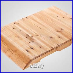 Wooden Beehive with 7 PCS High Efficiency Auto-Flow Honey Beekeeping Frames